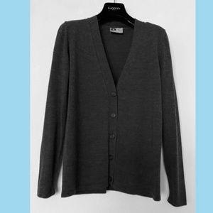 LANVIN Women's Wool Cardigan Sweater